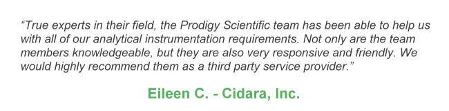 Home - Prodigy Scientific