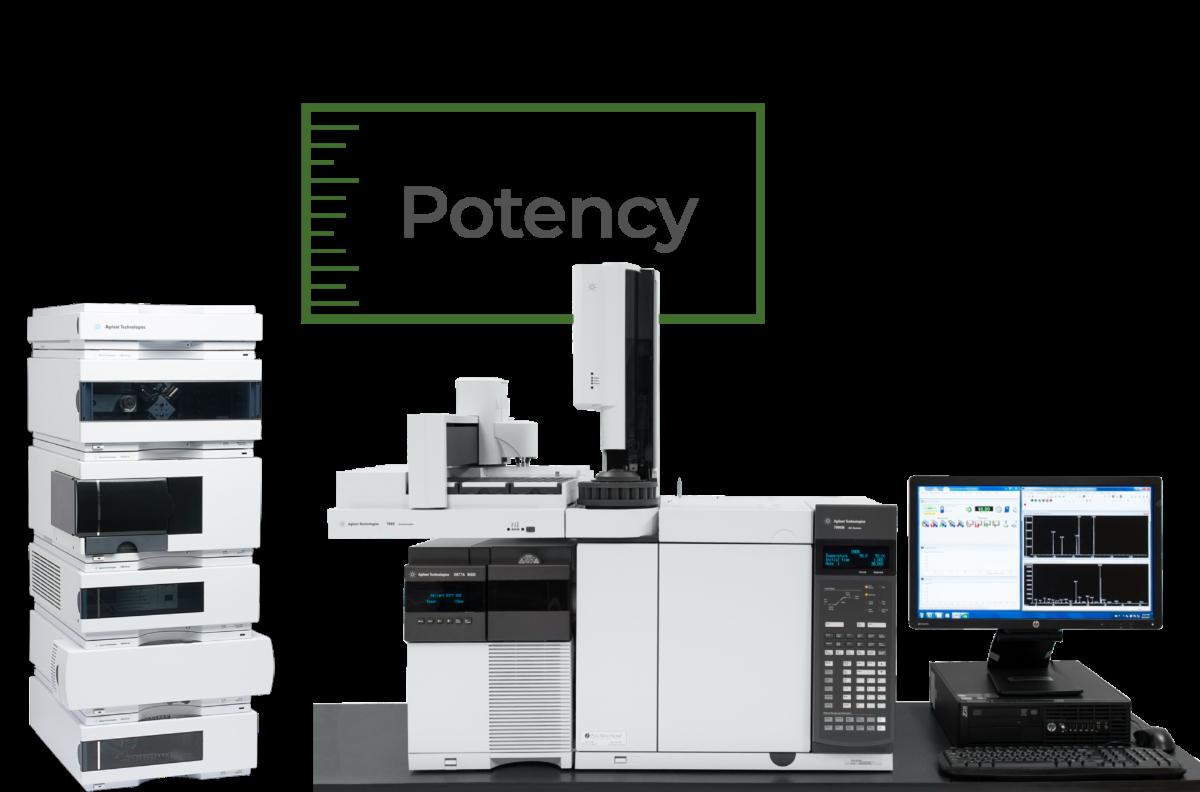 Potency testing equipment